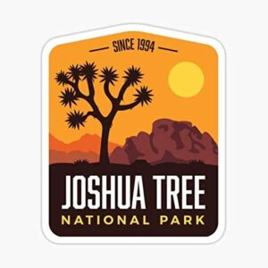 Joshua Tree National Park Sticker Window Sticker
