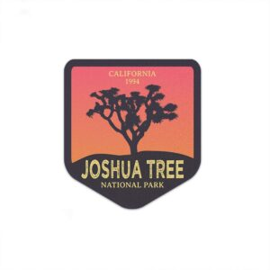 Joshua Tree National Park Sunset Decal