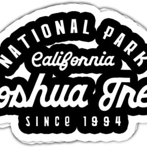 Joshua Tree National Park Text Decal