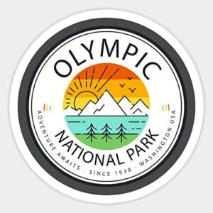 Olympic National Park Adventure Sticker