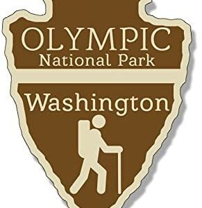 Olympic National Park Arrowhead Sticker