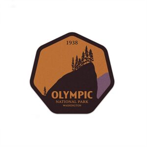 Olympic National Park Hr Die Cut Sticker