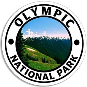 Olympic National Park Round Sticker