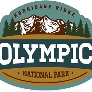 Olympic National Park Washington Hurricane Ridge Sticker