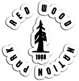 Redwood National Park 1968 Sticker