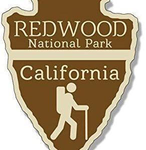 Redwood National Park Arrowhead Sticker