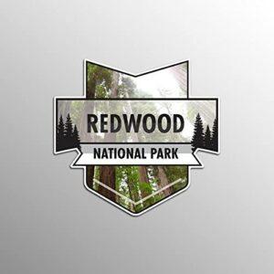 Redwood National Park Badge Decal Sticker