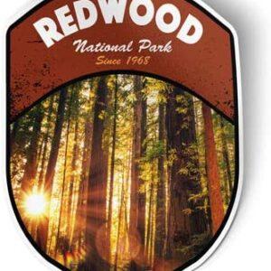 Redwood National Park Vinyl Sticker Decal
