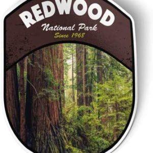 Redwood National Park Vinyl Sticker Die Cut