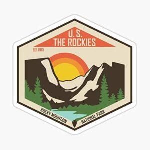 Rmnp The Rockies Sticker