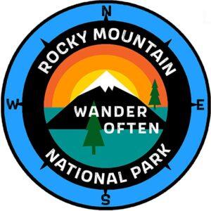 Rmnp Wander Often Window Car And Truck Sticker