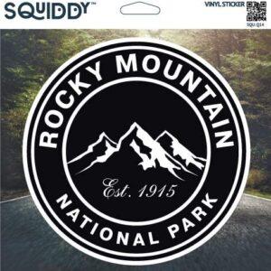 Rocky Mountain National Park Decal Sticker