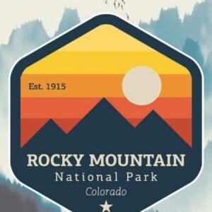 Rocky Mountain National Park Vinyl Sticker