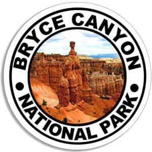 Round Bryce Canyon National Park Sticker