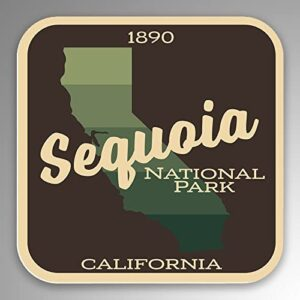 Sequoia National Park 1890 Sticker