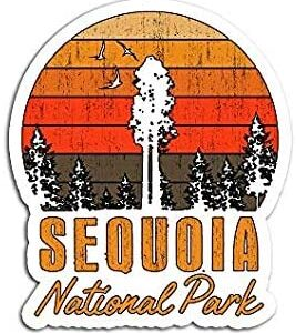 Sequoia National Park Retro Sticker