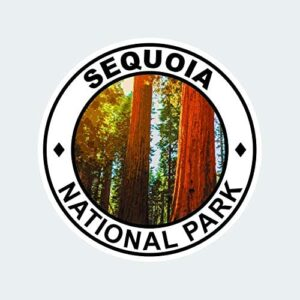 Sequoia National Park Round Sticker
