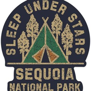 Sequoia National Park Sleep Under The Stars Sticker