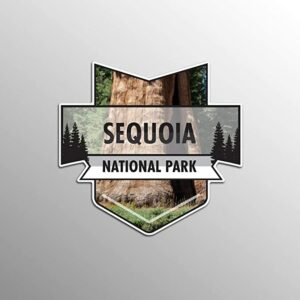 Sequoia National Park Vinyl Decal Sticker