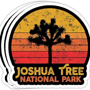 Vintage Joshua Tree National Park Retro Decal Sticker