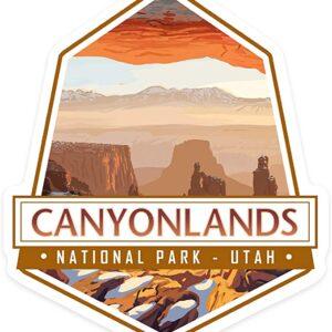 Vinyl Canyonlands Sticker