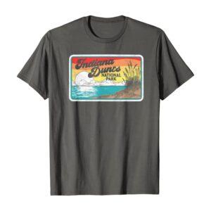 Indiana Dunes National Park Retro 80s Graphic Shirt