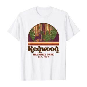 Redwood National Park Est 1968 Shirt