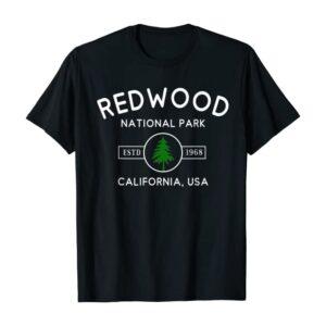 Redwood National Park Lone Tree Shirt