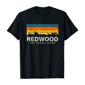Redwood National Park Tri Color T Shirt