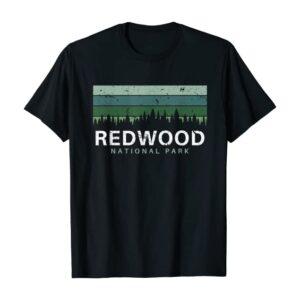 Redwood National Park Vintage Gradient Shirt