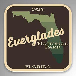 Everglades Gradient Sticker