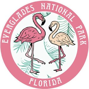 Everglades National Park Flamingos Sticker