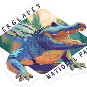 Everglades National Park Florida Gator Sticker
