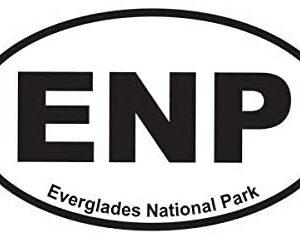 Everglades National Park Oval Sticker