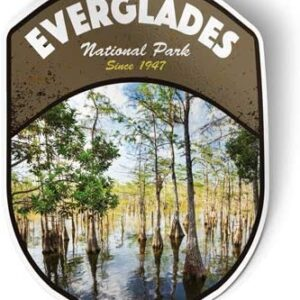 Everglades National Park Trees Sticker