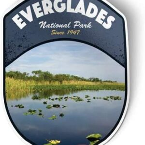 Everglades National Park Vinyl Decal Shield
