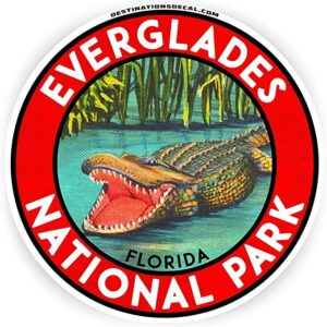 Gator Everglades National Park Sticker