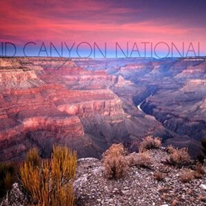Grand Canyon National Park Arizona Ridge Line Print