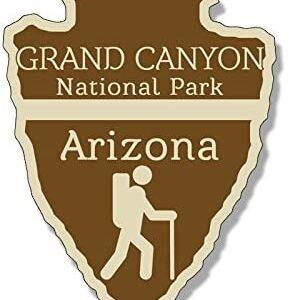 Grand Canyon National Park Arrowhead Sticker
