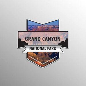 Grand Canyon National Park Badge Sticker