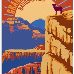 Grand Canyon National Park Big Horned Sheep Poster