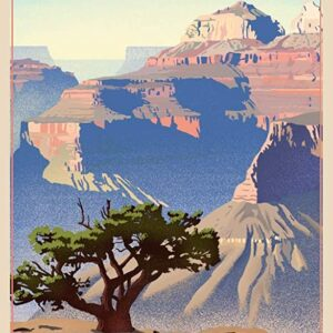 Grand Canyon National Park Lone Ree Travel Poster