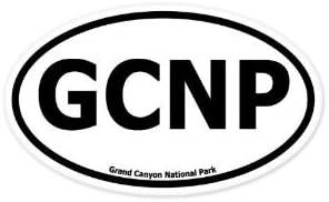 Grand Canyon National Park Oval Bumper Sticker