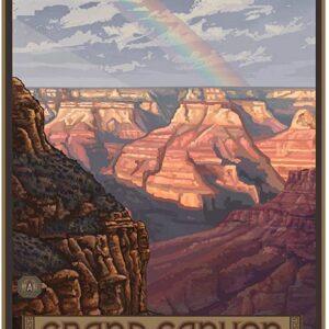 Grand Canyon National Park Rainbow Art Poster