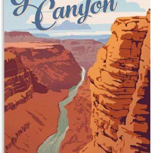 Grand Canyon National Park Vintage Poster