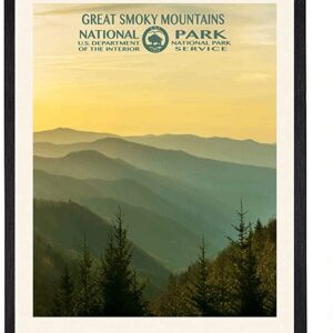 Great Smoky Mountains National Park Gradient Poster Print