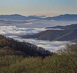 Great Smoky Mountains National Park North Carolina Art Print