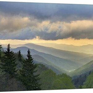 Great Smoky Mountains National Park Oconaluftee Valley Art Print