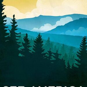 Great Smoky Mountains National Park See America Poster