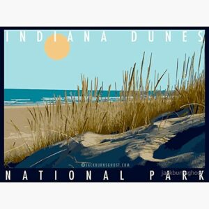 Indiana Dunes National Park Scenic Decal